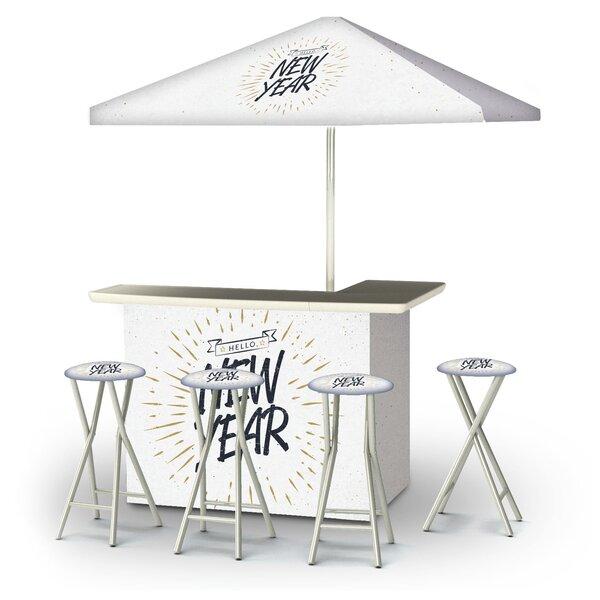 Yaelle Hello New Year 6-Piece Bar Set by East Urban Home