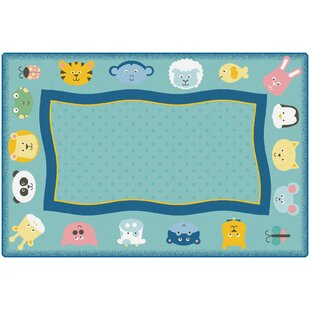 Look for KIDSoft™ Quiet Time Animal Playmat ByCarpets for Kids Premium Collection