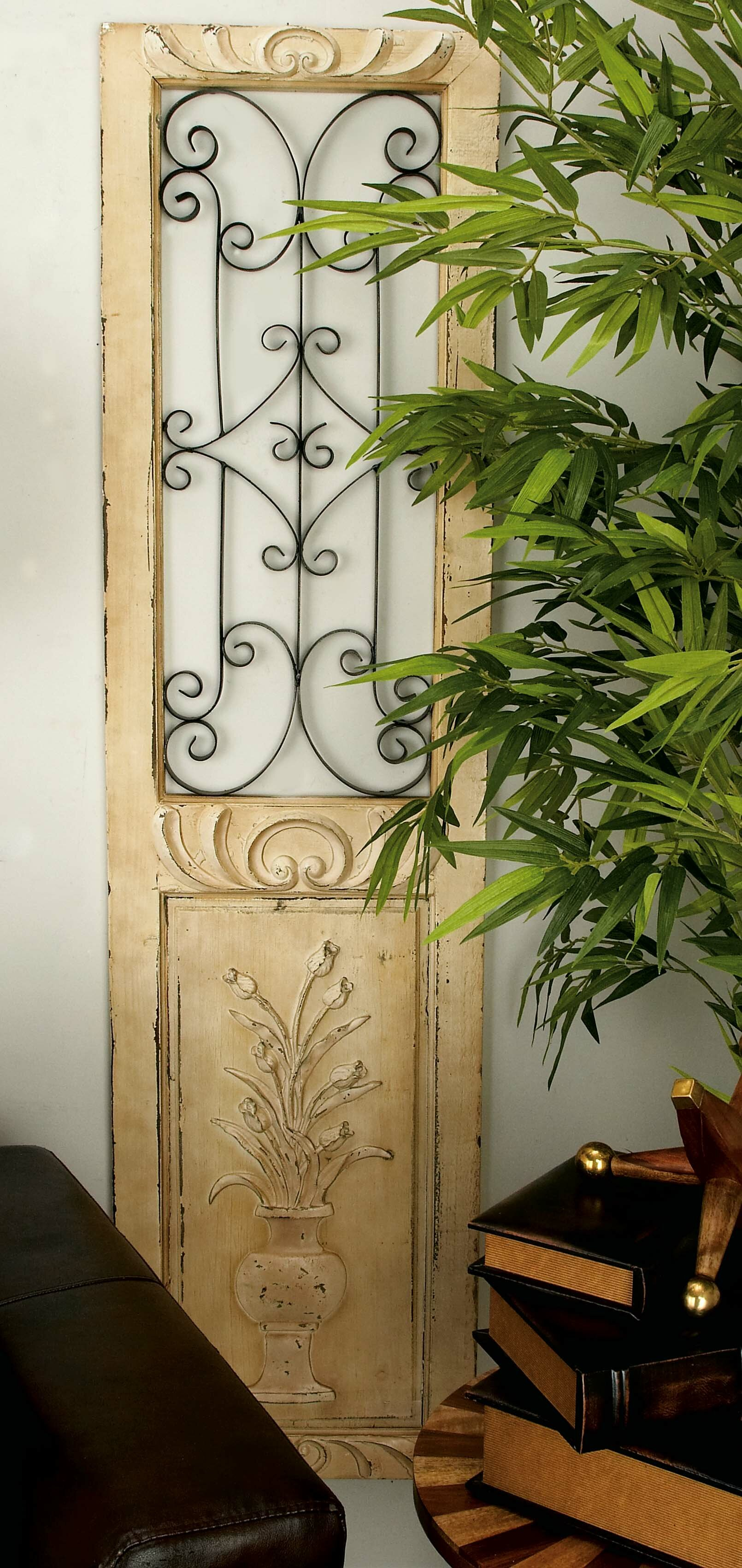 Wood And Metal Door Wall Decor Mesmerizing Cole & Grey Woodmetal Wall Décor & Reviews  Wayfair Design Inspiration