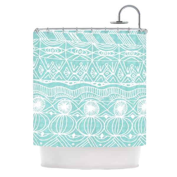 Beach Blanket Bingo Shower Curtain by KESS InHouse