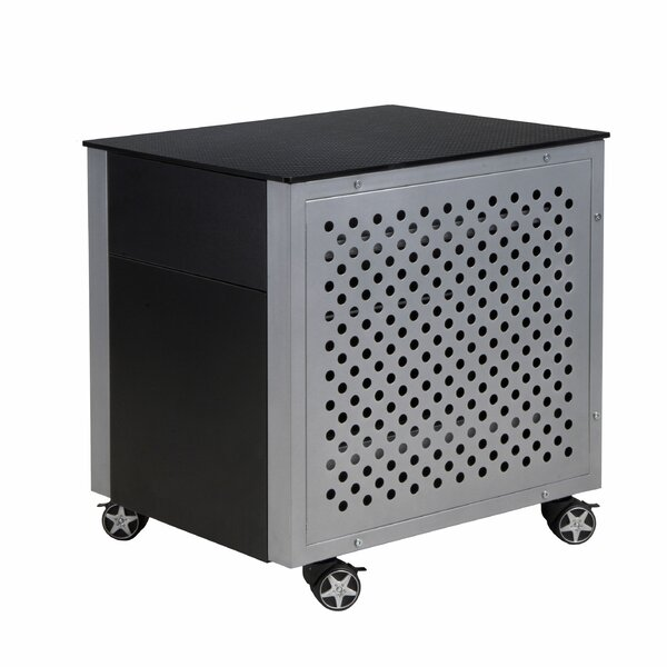 Malgosia Carbon Fiber 2-Drawer Vertical Filing Cabinet