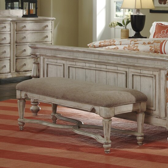 Osullivan Upholstered Bench by One Allium Way One Allium Way