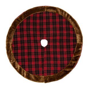 plaid christmas tree skirt - Christmas Plaid