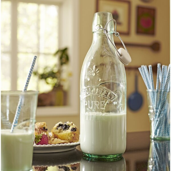 Pure Glass Milk Carafe by Birch Lane™