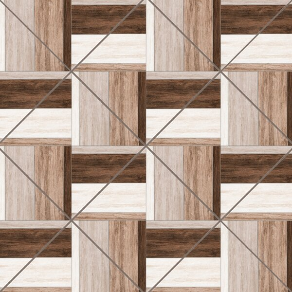 Dallas 18 x 18 Ceramic Wood look Tile