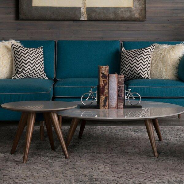 Jackson 2 Piece Coffee Table Set by Corrigan Studio