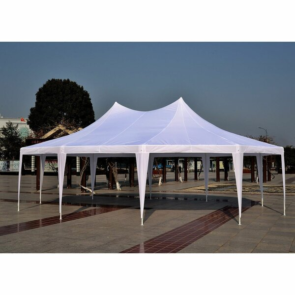 21 Ft. W x 29 Ft. D Steel Party Tent by Outsunny