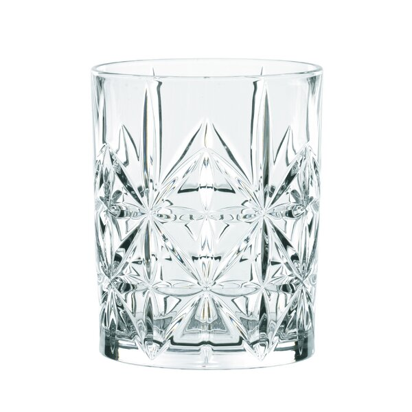 Highland Whiskey 12 oz. Crystal Cocktail Glass (Set of 4) by Nachtmann
