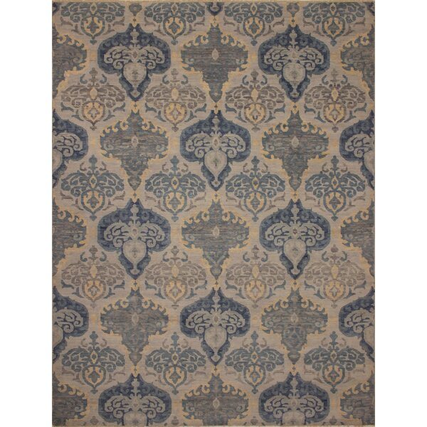 One-of-a-Kind Rothley Fine Oushak Francisca Hand-Knotted Beige Area Rug by Canora Grey