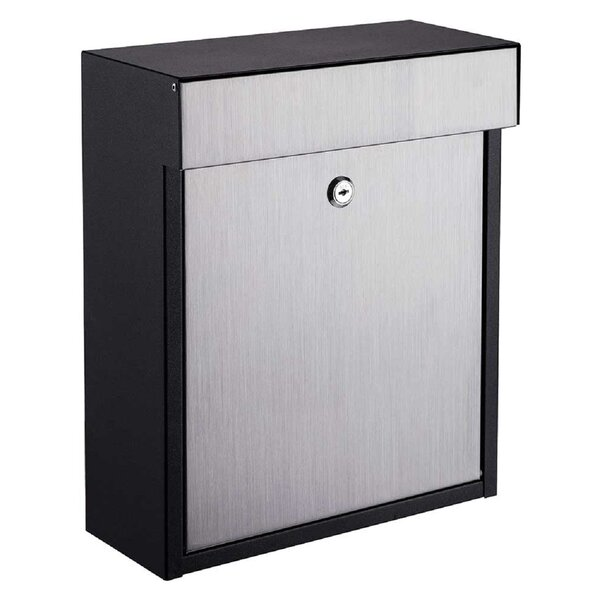 Winfield Series Locking Wall Mounted Mailbox by Qualarc