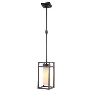 Affordable Simms 1-Light Square/Rectangle Pendant By Brayden Studio