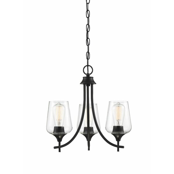 Hermitage 3 - Light Shaded Empire Chandelier By Gracie Oaks