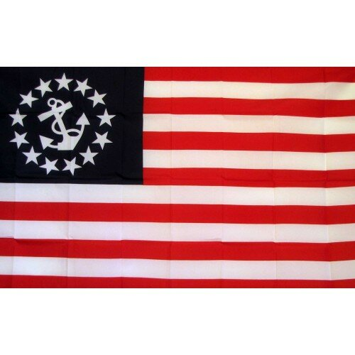 Yacht Ensign Traditional Flag by NeoPlex