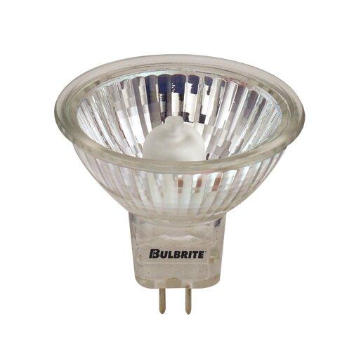 50W GU5.3 Dimmable Halogen Spotlight Light Bulb (Set of 5) by Bulbrite Industries