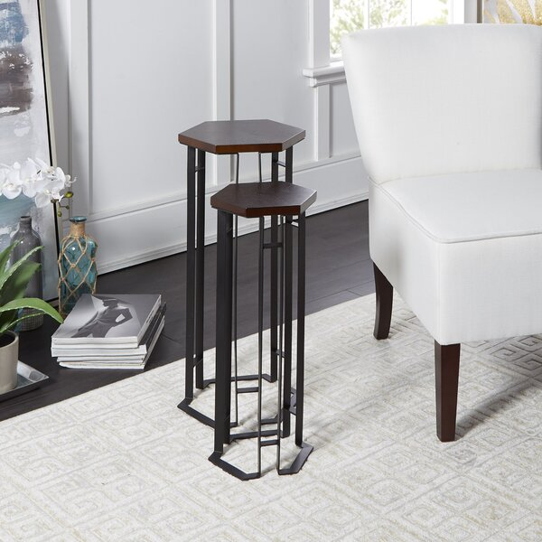 Orono 2 Piece Nesting Tables By Canora Grey