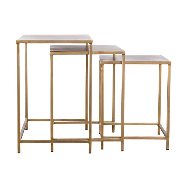 Margr 3 Piece Nesting Tables by Mercer41
