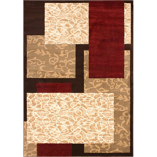 Dacian Light Beige Area Rug by World Menagerie