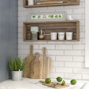 Madalynn Sharan Rustic Accent Shelf