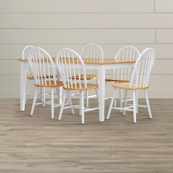 Galesburg 7 Piece Dining Set by August Grove