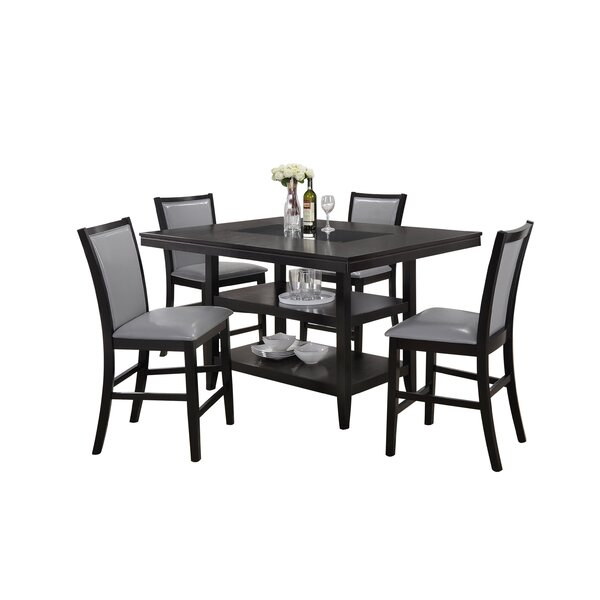 Ashton 5 Piece Dining Set by Red Barrel Studio