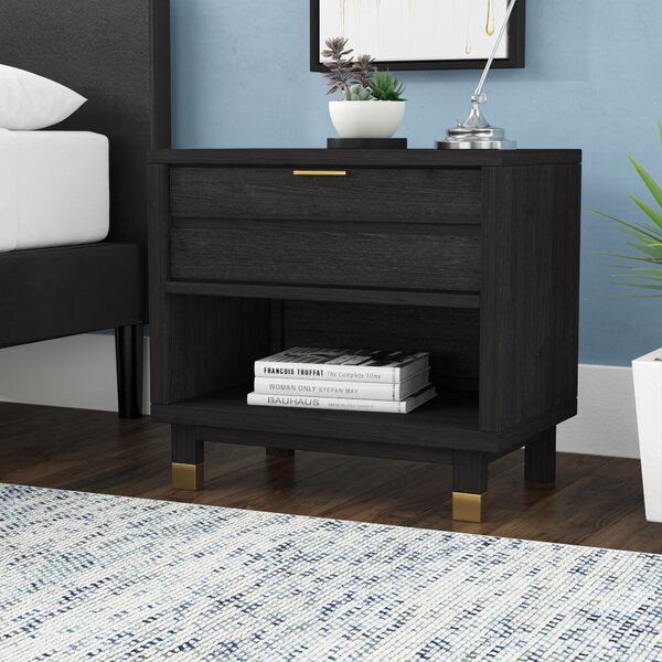 Randeep 1 Drawer Nightstand by Brayden Studio