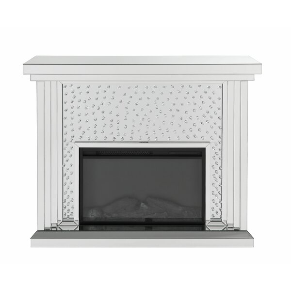 Cockrell Hill Electric Fireplace By Mercer41