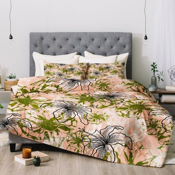 Marta Barragan Camarasa Cactus Flowers Comforter Set