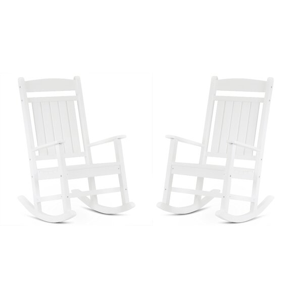 Reding Classic Rocking Chair (Set Of 2) By August Grove by August Grove Wonderful