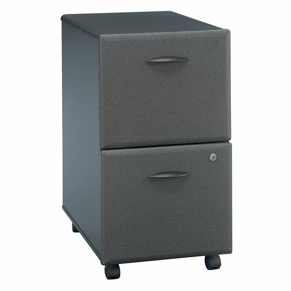 Series A 2 Drawer Vertical File Cabinet by Bush Bu