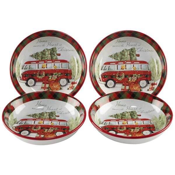 Esther 42 oz. Pasta Bowl (Set of 4) by The Holiday Aisle