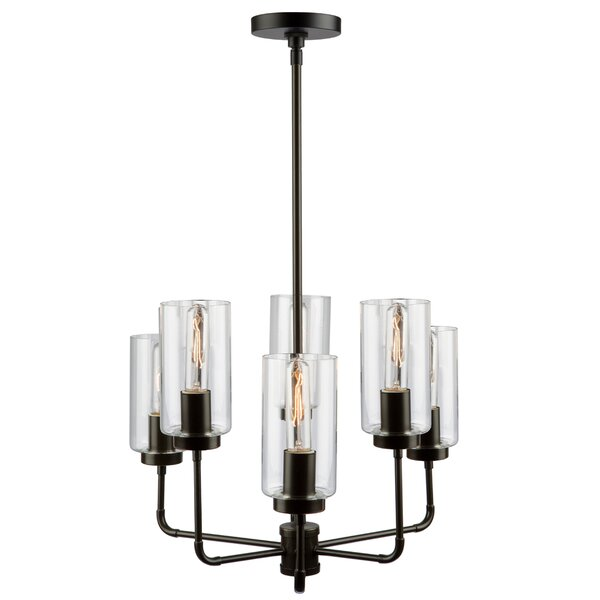 Taurla 6-Light Shaded Chandelier by 17 Stories