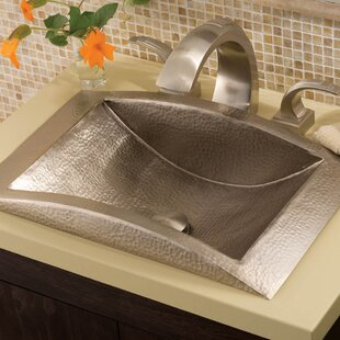 Eclipse Metal Rectangular Drop-In Bathroom Sink By Native Trails, Inc.