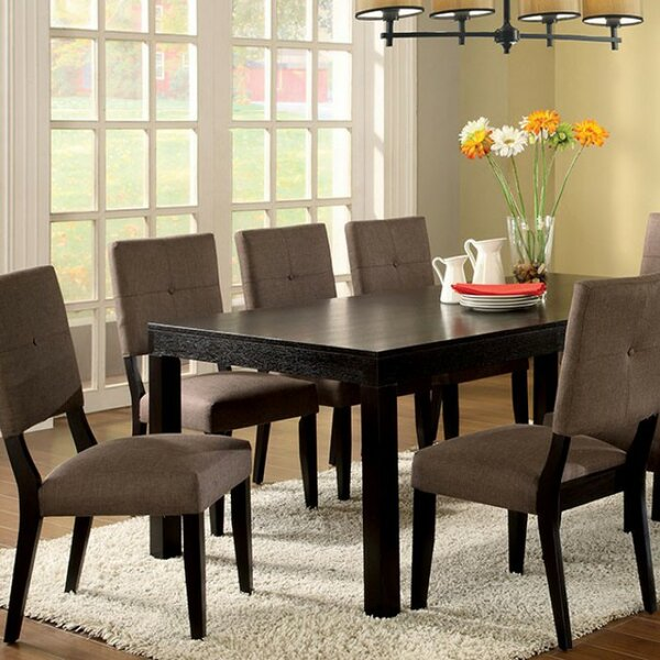 Serenity Contemporary Solid Wood Dining Table by Winston Porter