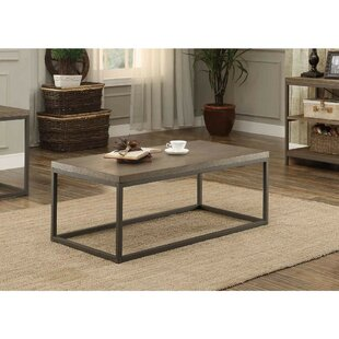 Islip Metal Frame Coffee Table by Gracie Oaks