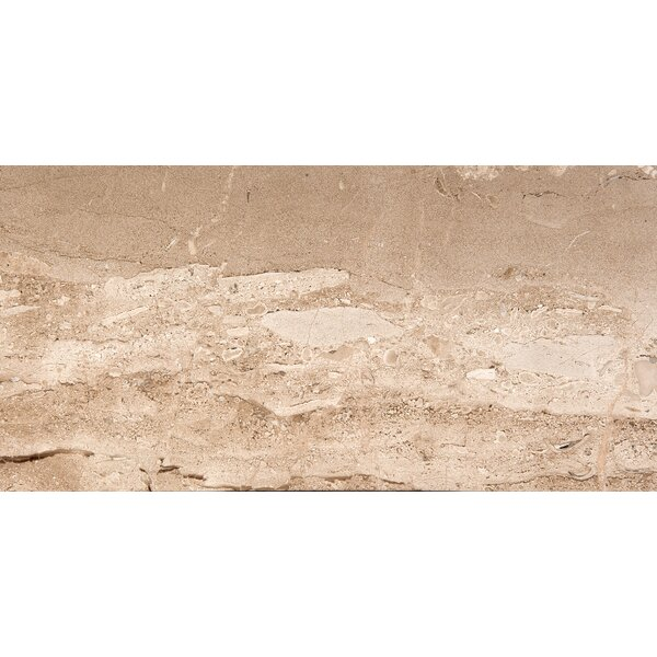 Natural Stone 12 x 24 Marble Field Tile in Daino Reale by Emser Tile