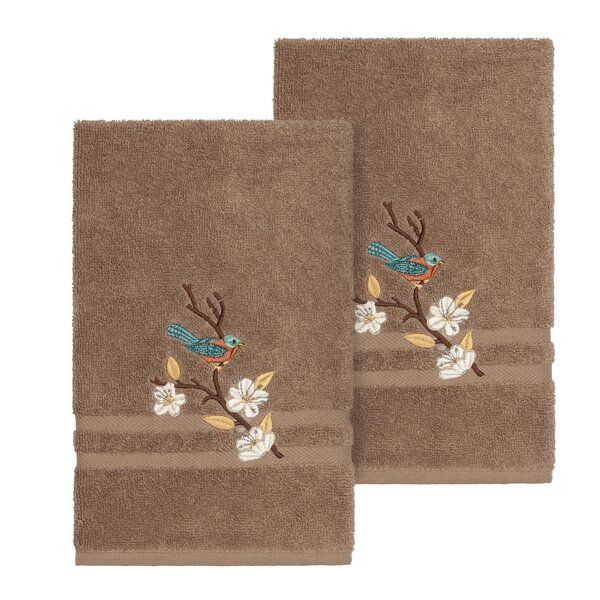 Ronin Turkish Cotton Hand Towel (Set of 2) by August Grove