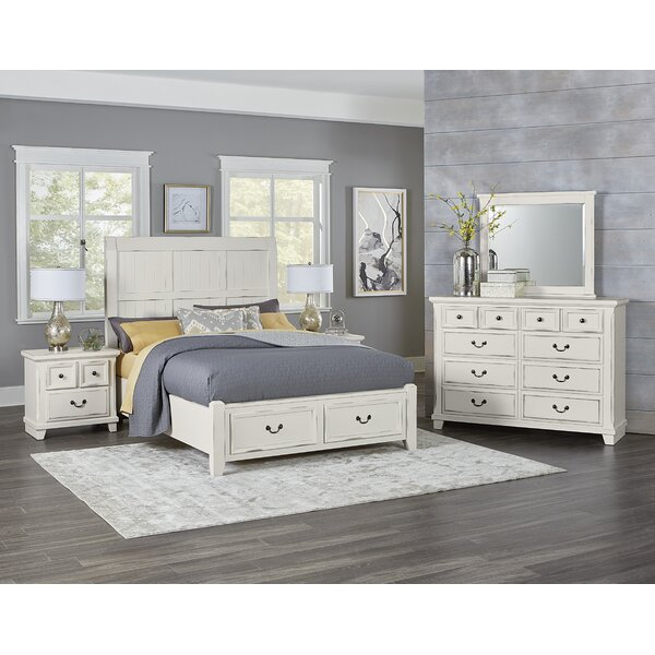 Hanscom King Panel Storage Configurable Bedroom Set by Alcott Hill