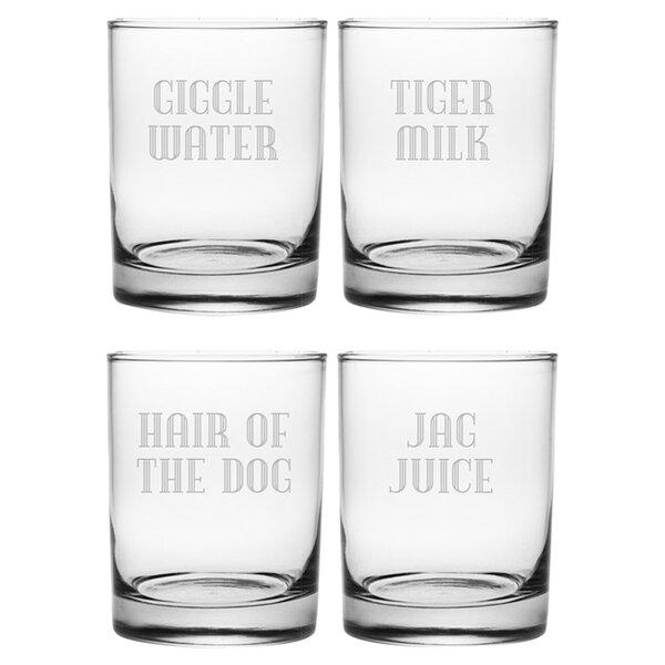 Gin Joint Rocks Glass by Susquehanna Glass