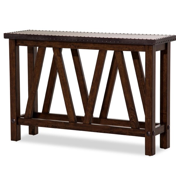 Michael Amini Brown Console Tables