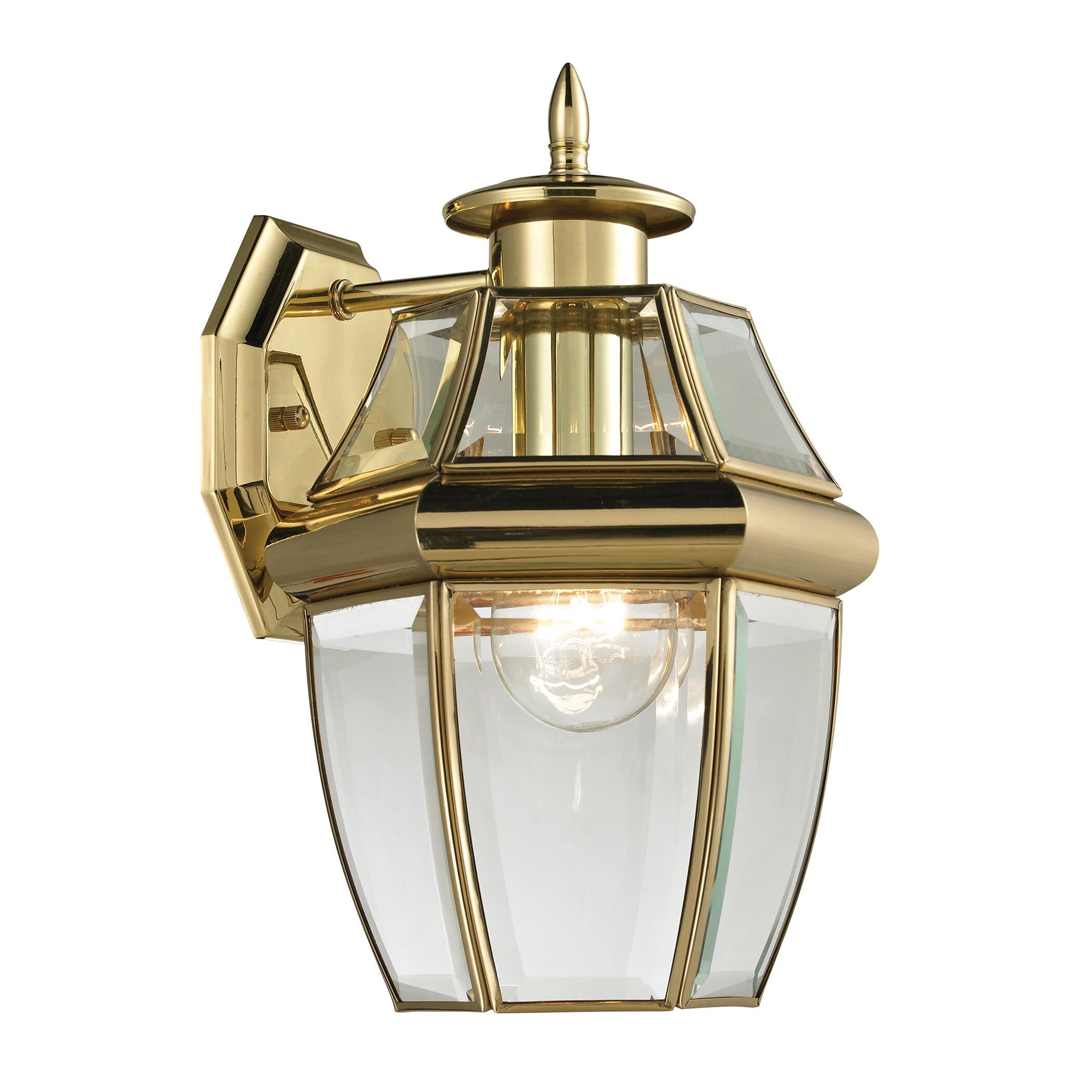 Ashford 1 Light Outdoor Wall Lantern. By Cornerstone Lighting
