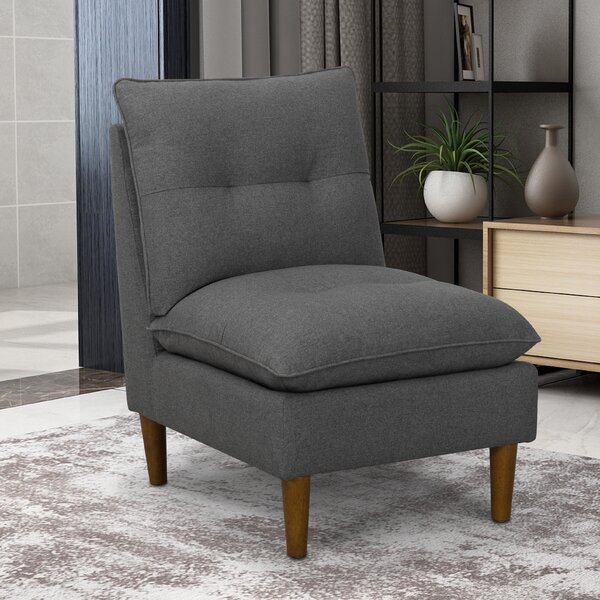 Les Pillowtop Slipper Chair by Wrought Studio