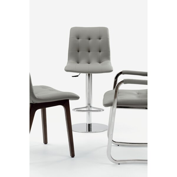 Kuga Adjustable Height Swivel Bar Stool by Bontempi Casa