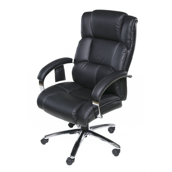Hurley Heated Massage Executive Chair by Latitude Run