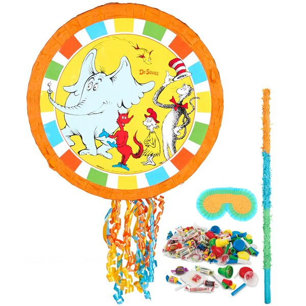 4 Piece Dr. Seuss Pinata Kit by NA