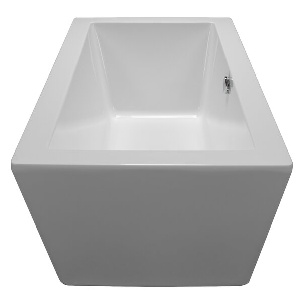 59 x 32 Freestanding Soaking Bathtub by American Acrylic