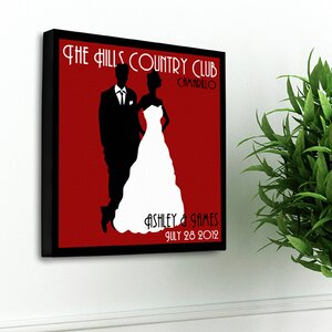 Personalized Gift Couples Studio Graphic Art on Canvas by JDS Personalized Gifts