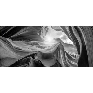 'Antelope Canyon 2 Light' Graphic Art Print by East Urban Home