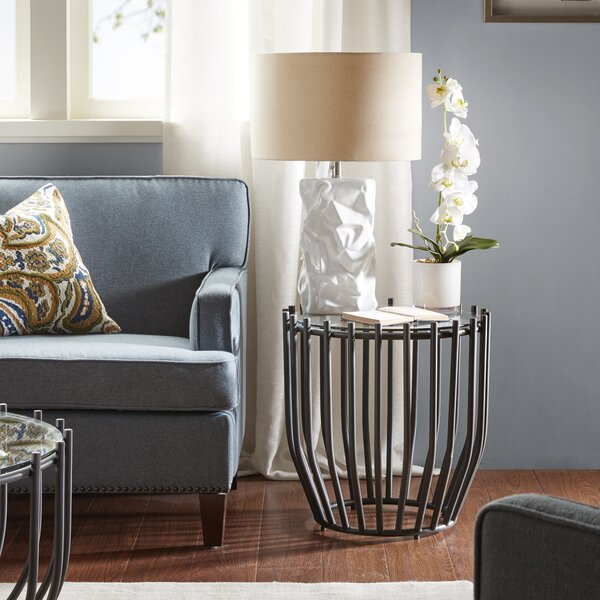 Vina End Table By Bloomsbury Market