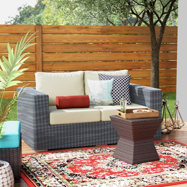 Keiran Loveseat with Cushions by Brayden Studio