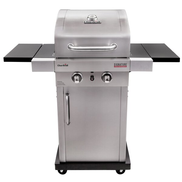Signature™ TRU-InfraRed™ 2-Burner Propane Gas Grill with Cabinet by Char-Broil